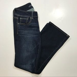 American Eagle Stretch Slim Boot Jeans 6 Short